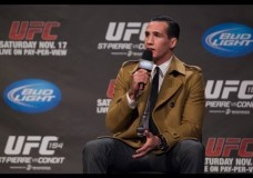 Rory MacDonald says he will fight at middleweight at some point in my career'