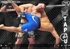 UFC 155: Dos Santos vs. Velasquez II — Main Card Results & Fight Video Highlights
