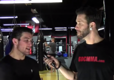 "UFC 157 star Sam ""Hands of Stone"" Stout Interview PT.1 [Video]"