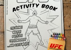 Discontinued UFC Children's Activity Book