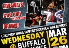 Wednesday Night LIVE-In Person- Elias Theodorou Viewing party for TUF